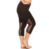 PLUS CAPRIS W/ BACK LACE LEG PANELS #X8CP25