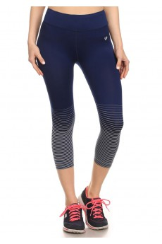 ACTIVE CAPRIS WITH OMBRE STRIPES #6ACP05