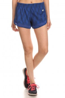 NAVY/BLUE GEO DOT PRINT ACTIVE SHORTS WITH MESH PANELS #6ASH04-03