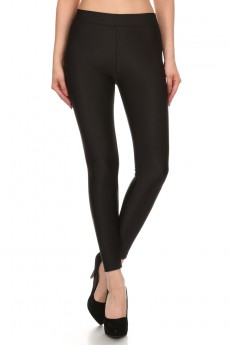 SHINY FLEECE LINED LEGGING #6L39