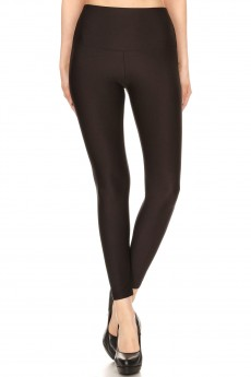 7/8 HIGH WAIST SHINY LEGGING #8L63
