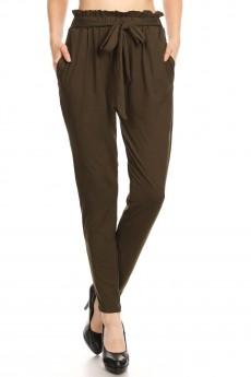 PAPER BAG WAIST PANTS#8PNT03