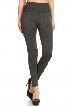 HIGH WAIST FLEECE SEAMLESS LEGGINGS#8SHW9000