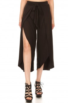 BRUSH POLY WRAP CULOTTES #9CWR02