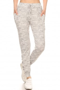SIDE POCKET SPORT JOGGER W/ MESH & CRISS CROSS STRAPS#9TRK12-SD07