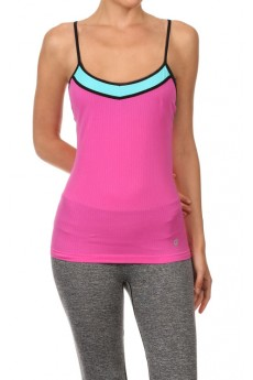 MAGENTA/BLUE ACTIVE CAMI #ACM15N104