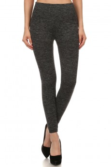 SEAMLESS  BODY SHAPING FLEECE LEGGINGS# SL15FL20