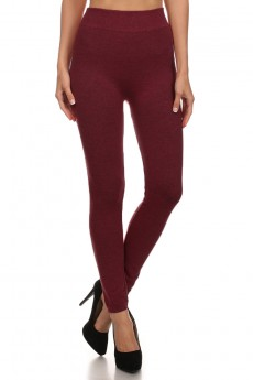 SEAMLESS FRENCH TERRY LEGGINGS #6SS9000A