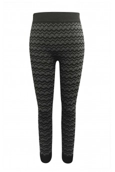 KIDS BLACK/GREY RIB KNITTING FRENCH TERRY SEAMLESS JACQUARD JOGGER (7/8, 10/12) #XK6TRK12-01