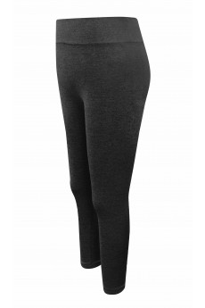 KIDS BASIC SEAMLESS JERSEY KNIT LEGGING(7/8, 10/12) #XK7L21