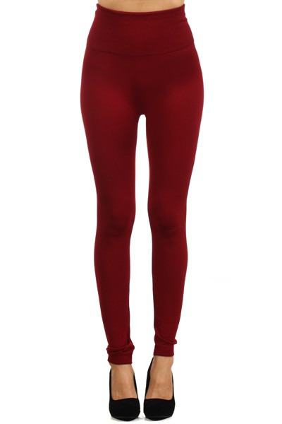 HIGH WAIST FLEECE SEAMLESS LEGGING #SHW9000