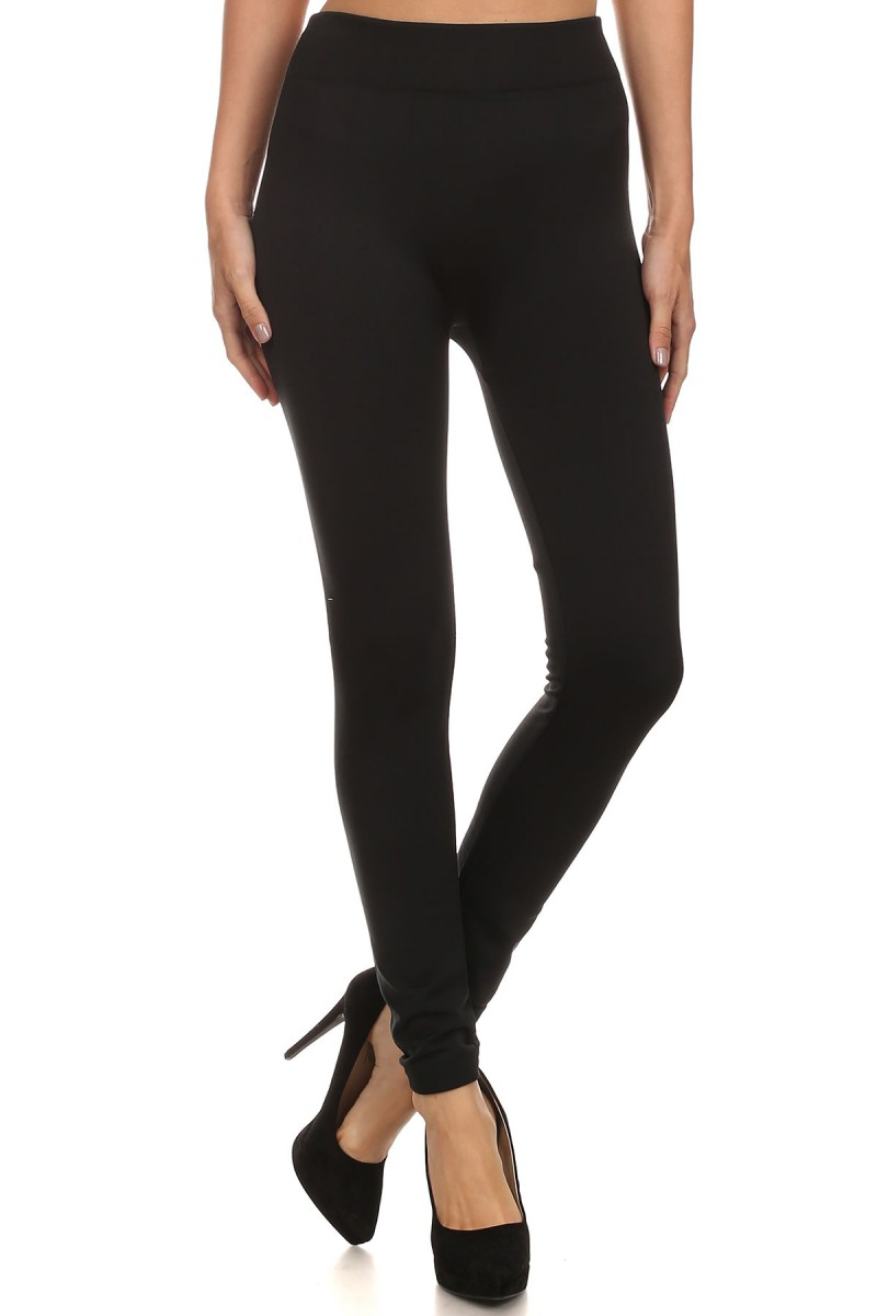 SEAMLESS FLEECE LEGGINGS #6SS9000