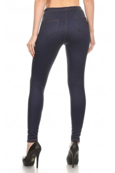 BASIC FUR LINED JEGGINGS #6JG11