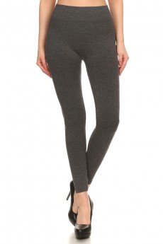 BASIC SEAMLESS JERSEY KNIT LEGGING #7L21
