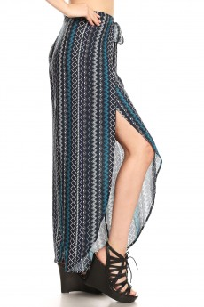 OVERLAP CROPPED WRAP PANTS#9WRP04-06