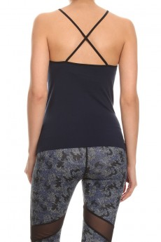 NAVY/PINK ACTIVE CAMI #ACM15N100