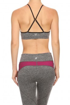 CHARCOAL ACTIVE BRA #ACM15N105-B