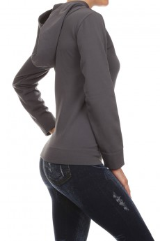 SEAMLESS FLEECE-LINED HOODIES W/ KANGAROO POCKET #HD15FL10