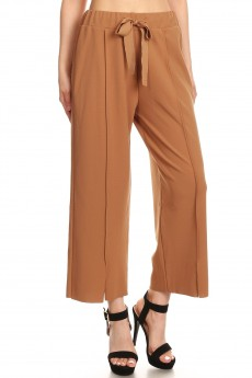 SELF-TIE CULOTTES FRONT CUT #SG80502