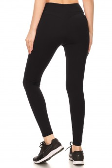 FLEECE LINED SCULPTING LEGGING#S680903