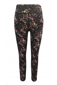 KID PRINTED LEGGING WITH CONTRAST INSIDE WAISTBAND (4/5, 6/6X) #K6L17-10