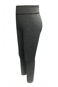 KIDS OMBRE STRIPES SEAMLESS FLEECE-LINED LEGGINGS(4/6X) #K6L21